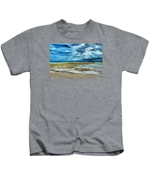 Storm Over Yamacraw Kids T-Shirt