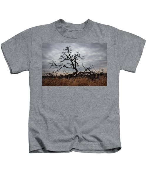 Storms Make Trees Take Deeper Roots  Kids T-Shirt
