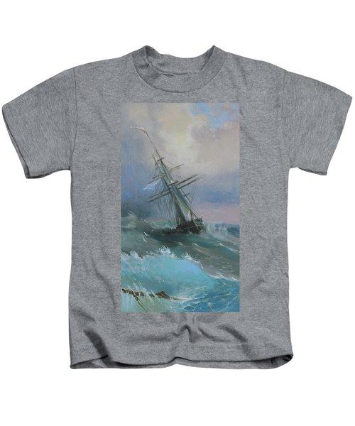 Stormy Sails Kids T-Shirt