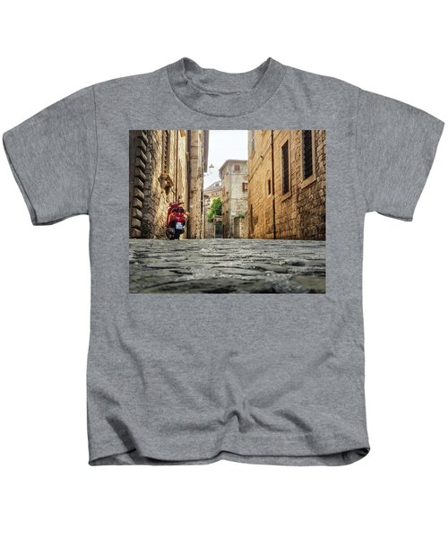 Streets Of Italy Kids T-Shirt