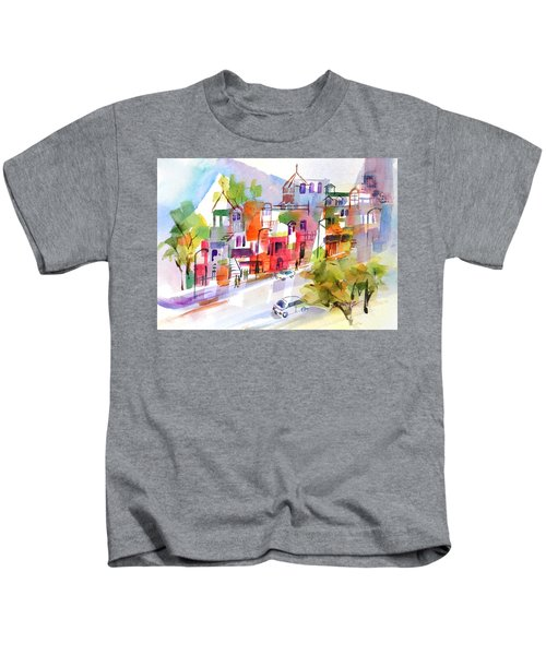 Stroll In Montreal Kids T-Shirt