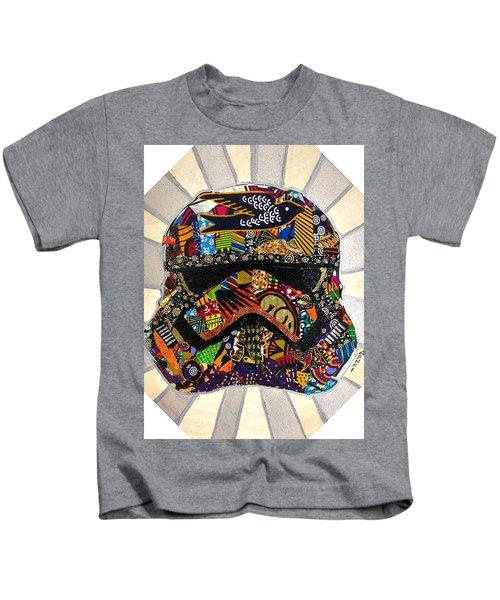 Strom Trooper Afrofuturist  Kids T-Shirt