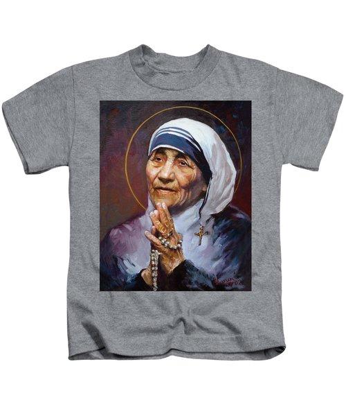 St.teresa Of Calcutta Kids T-Shirt