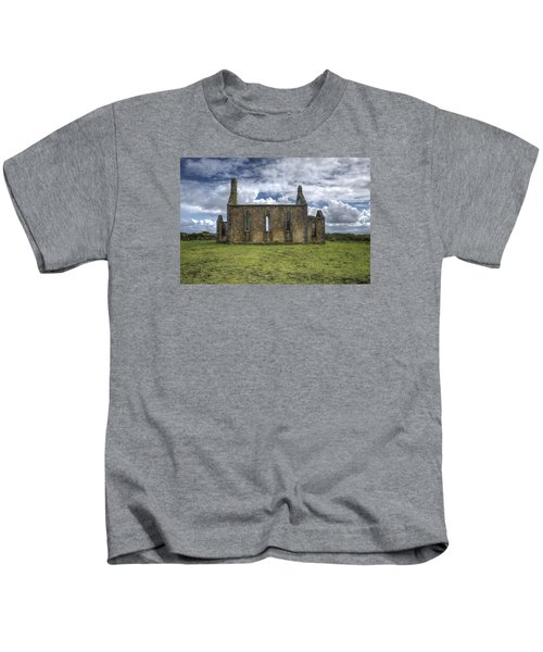 Stthomas Church In Aran Islands, Inis Mor Kids T-Shirt