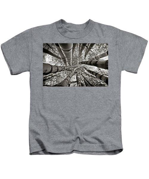 Stunning Bamboo Forest Kids T-Shirt