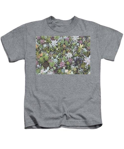 Succulent 8 Kids T-Shirt