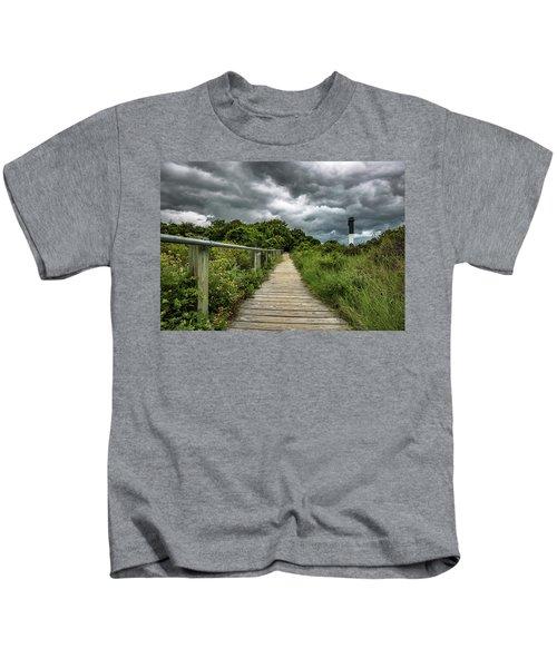 Sullivan's Island Summer Storm Clouds Kids T-Shirt