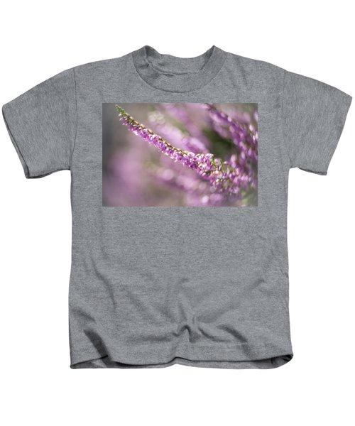 Summer Breezes Through The Heather Kids T-Shirt