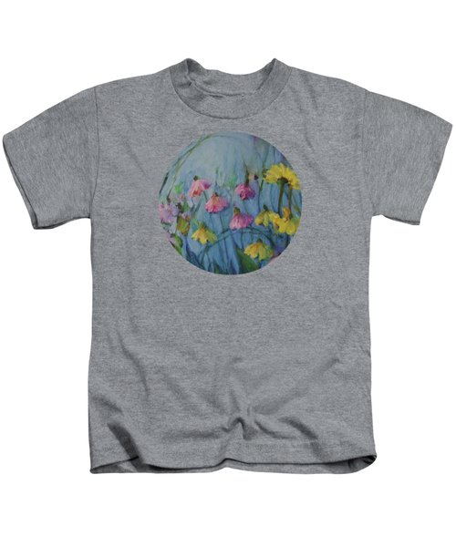 Summer Flower Garden Kids T-Shirt