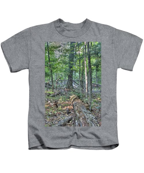 Summer In A Canadian Forest Kids T-Shirt