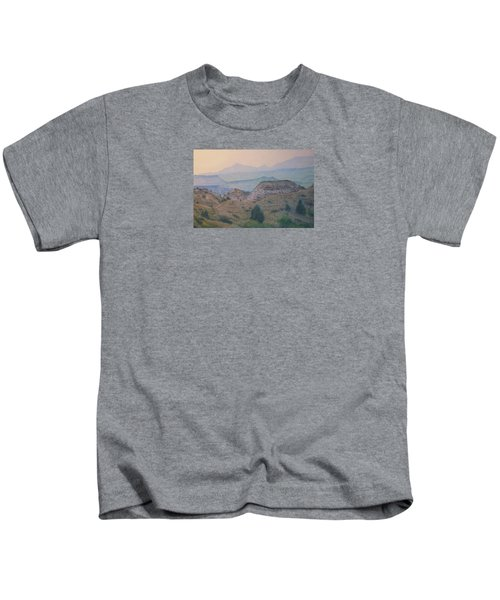 Summer In The Badlands Kids T-Shirt