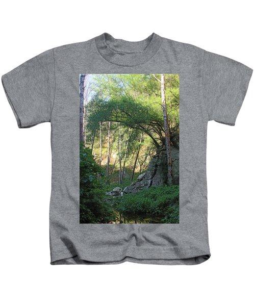 Summer On Bitten Path Kids T-Shirt