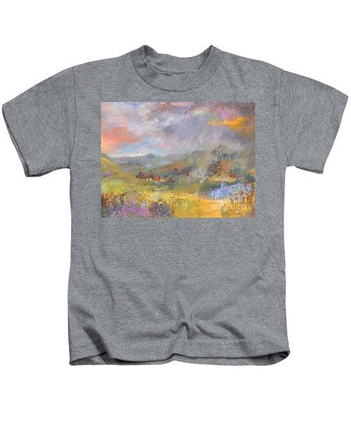 Summer Rain Kids T-Shirt