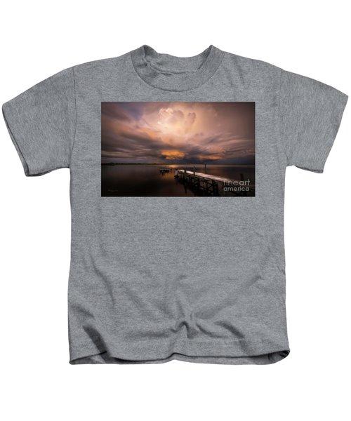 Summer Rains Kids T-Shirt