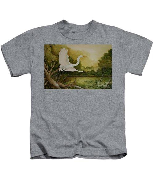 Summer Solitude Kids T-Shirt
