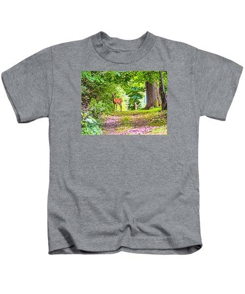 Summer Stroll Kids T-Shirt