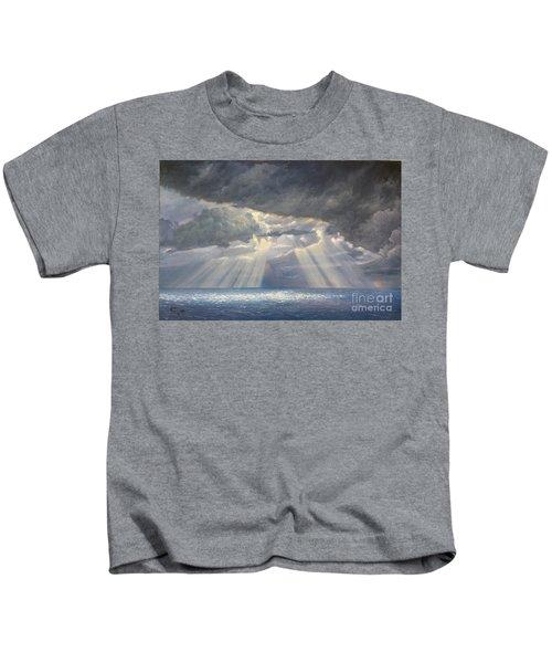 Storm Subsides Kids T-Shirt