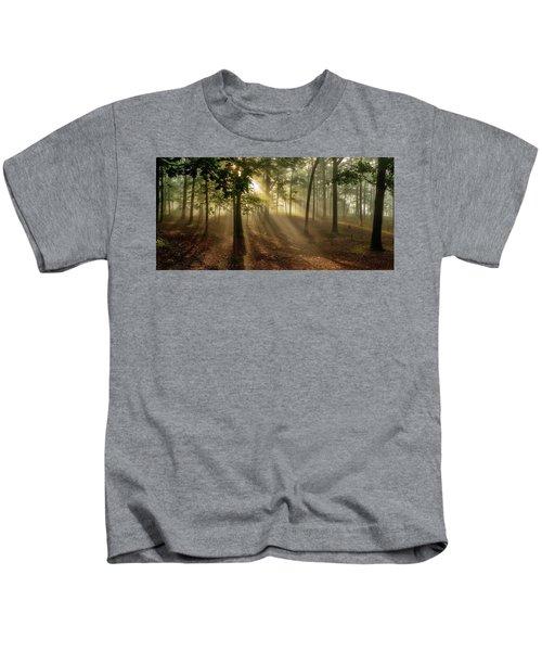 Sun And Clouds Kids T-Shirt