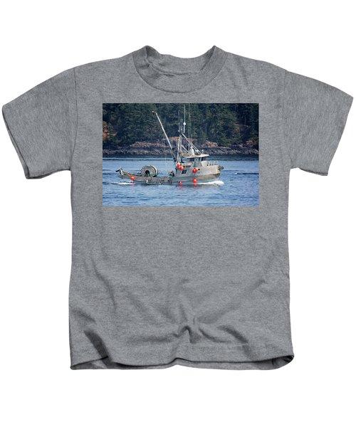Sun Fisher Off Campbell River Kids T-Shirt