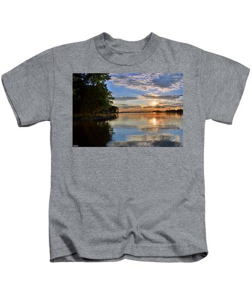 Sunburst At Sundown Kids T-Shirt