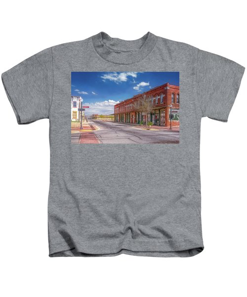 Sunday In Brenham, Texas Kids T-Shirt