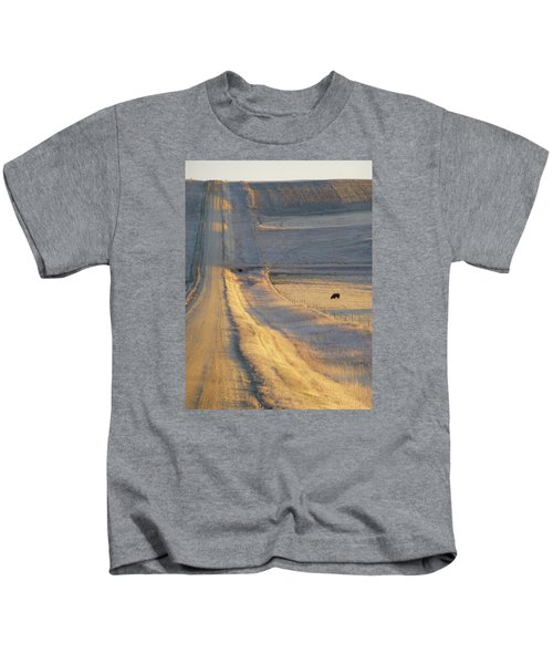 Sunlit Road Kids T-Shirt