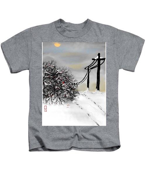 Sunny 28 Below Kids T-Shirt