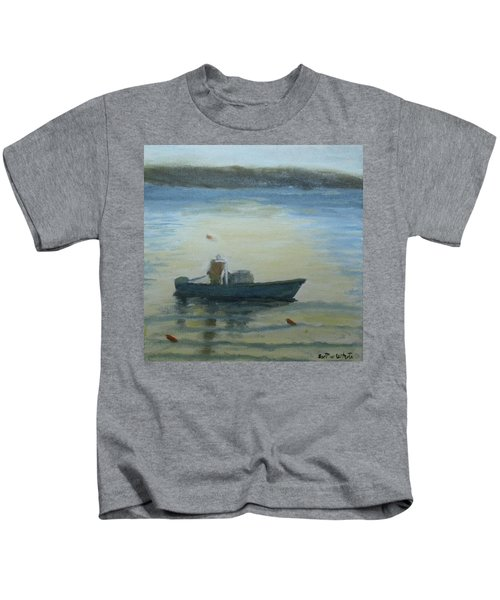 Sunny Morning And Lobster Kids T-Shirt