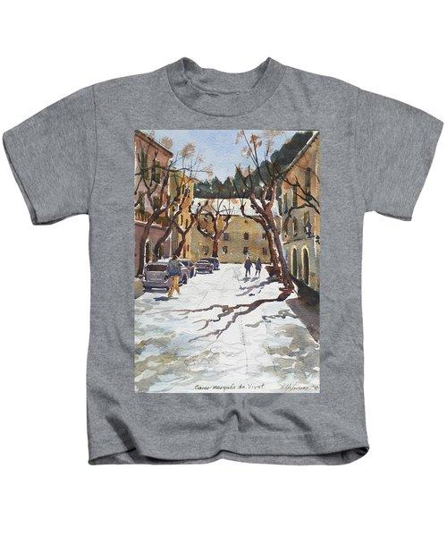 Sunny Street, Valledemossa Kids T-Shirt