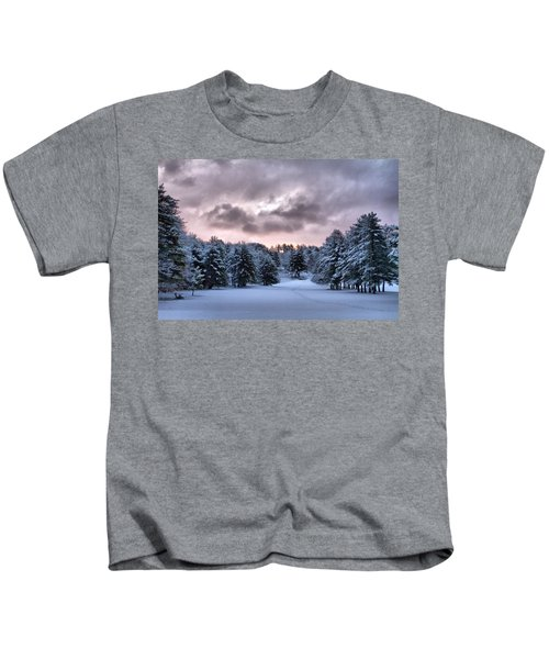 Sunrise After The Snow  Kids T-Shirt
