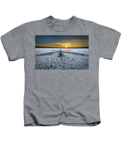 Sunrise At Soda Lake Kids T-Shirt