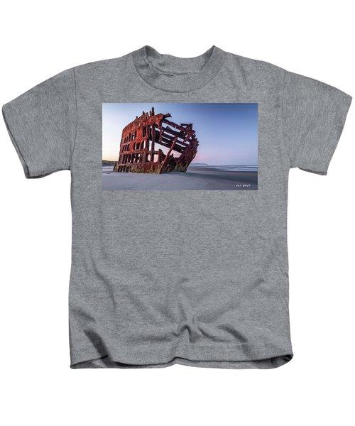 Sunrise In Astoria Kids T-Shirt