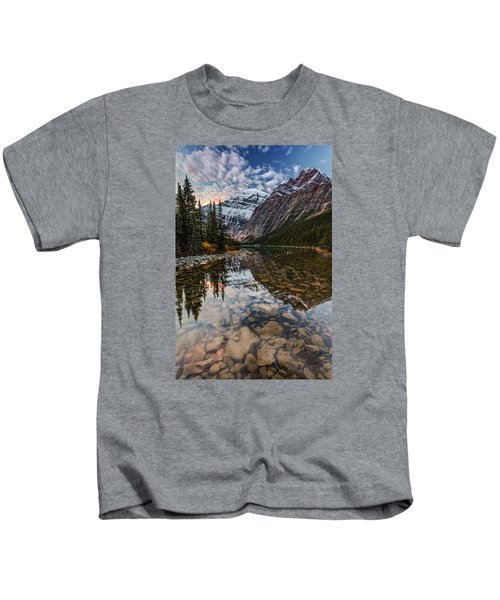 Sunrise In The Rocky Mountains Kids T-Shirt