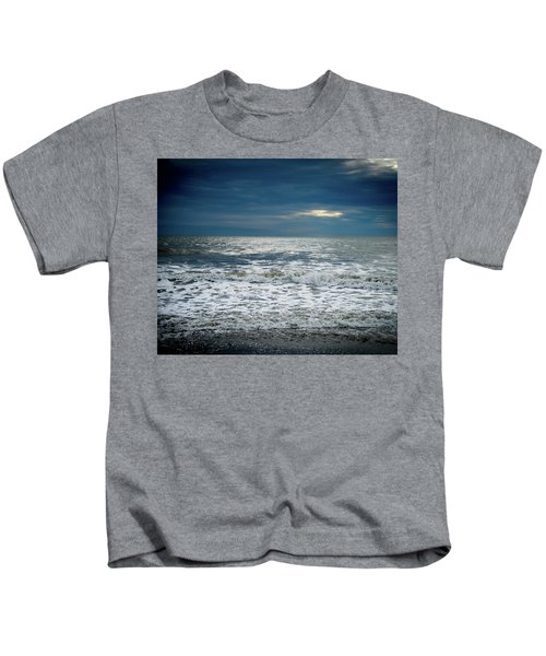 Sunrise-kennebunk Beach Kids T-Shirt