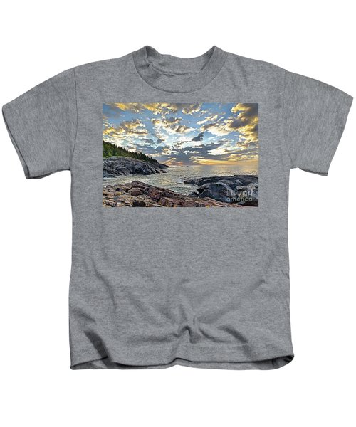 Sunrise On Christmas Cove Kids T-Shirt