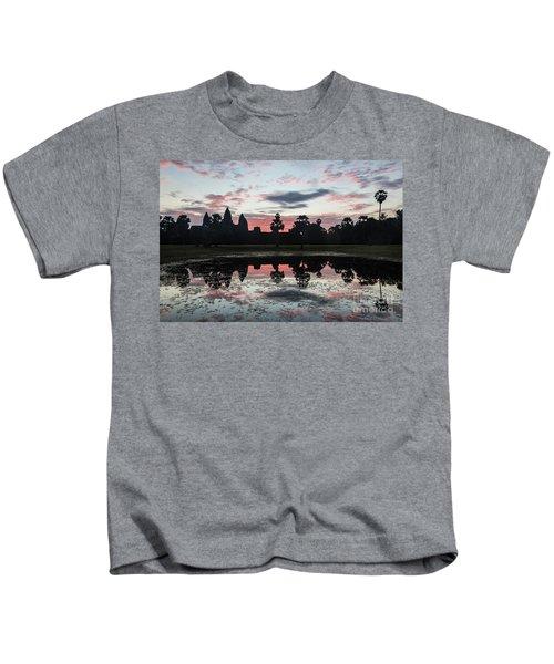 Sunrise Over Angkor Wat Kids T-Shirt
