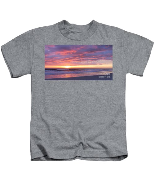 Sunrise Pinks Kids T-Shirt