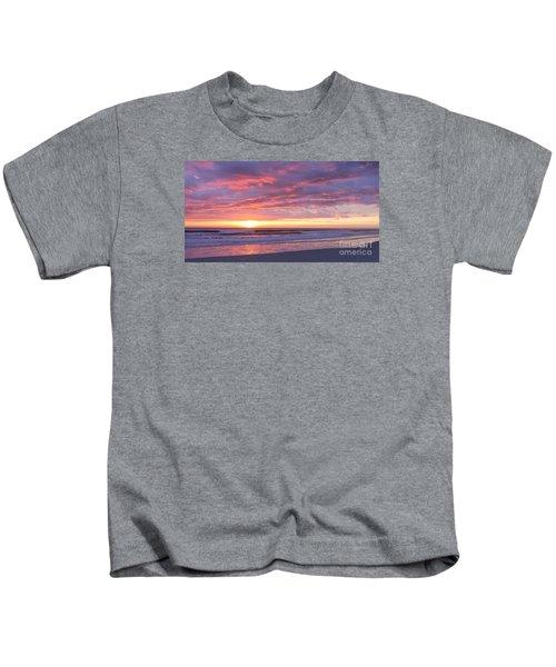 Sunrise Pinks Kids T-Shirt