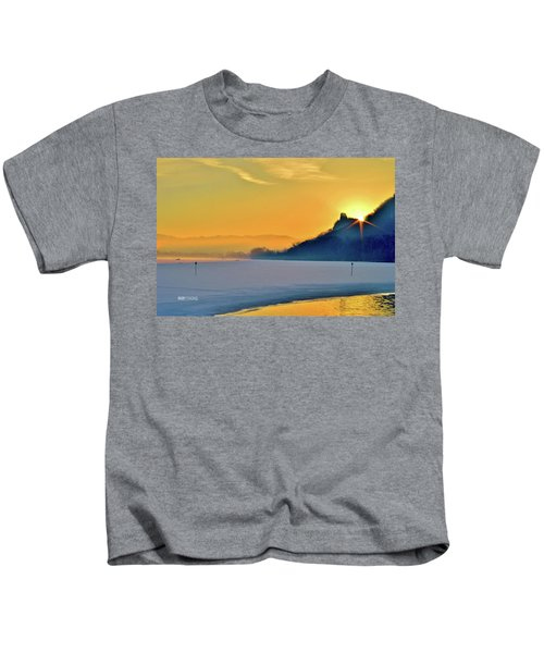 Sunrise Sparkle Kids T-Shirt