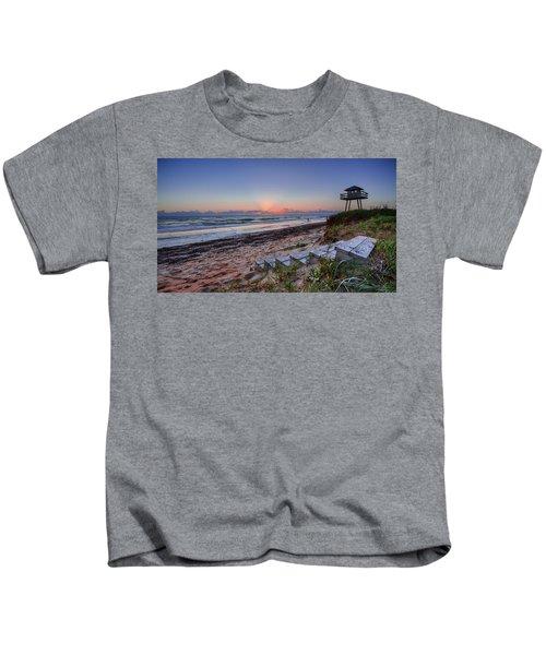 Sunrise Stairs Kids T-Shirt