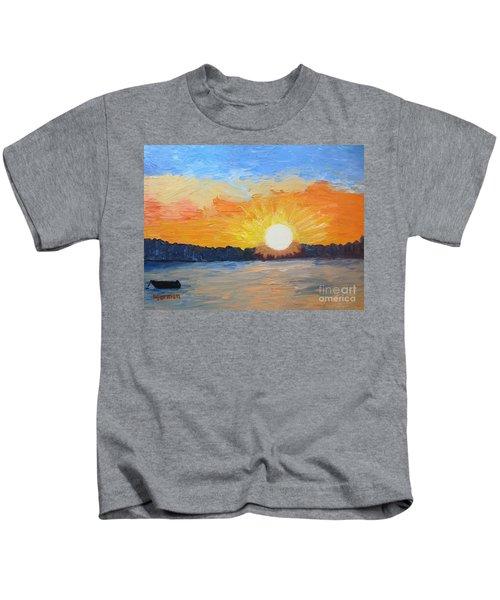 Sunrise Sensation Kids T-Shirt