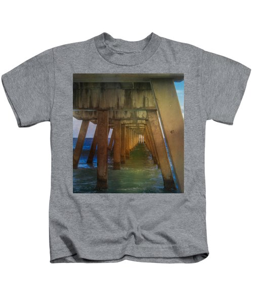 Sunrise Under The Pier Kids T-Shirt