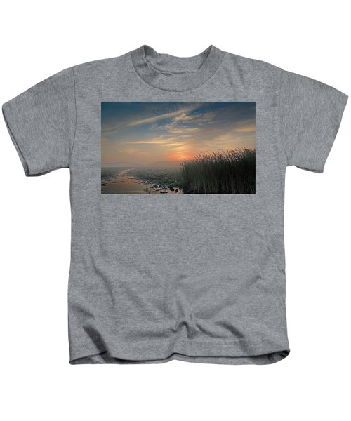 Sunrise Through The Fog Kids T-Shirt