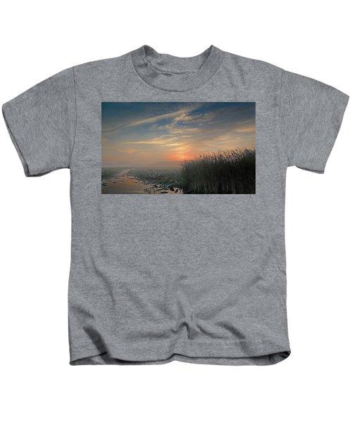 Sunrise Through The Fog Kids T-Shirt