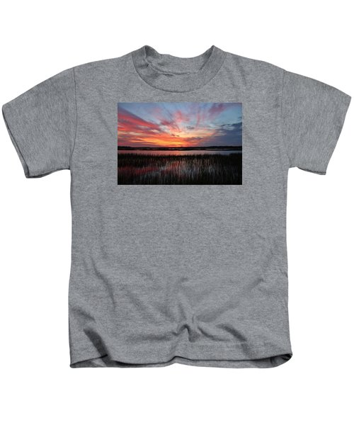 Sunset And Reflections 2 Kids T-Shirt