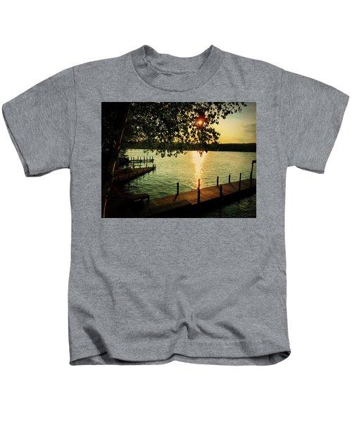 Sunset Bay Kids T-Shirt