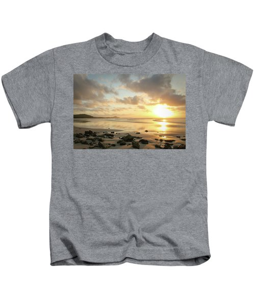 Sunset Beach Delight Kids T-Shirt