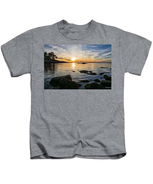 Sunset Cove Gloucester Kids T-Shirt