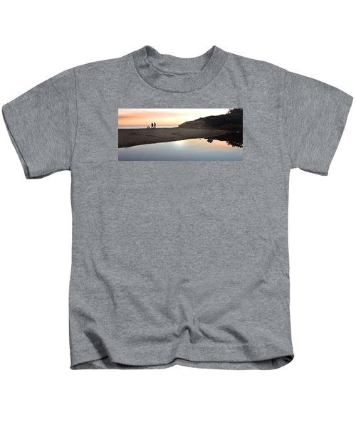 Sunset Family Kids T-Shirt