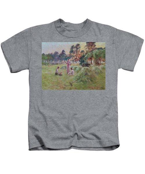 Sunset In Beynac-et-cazenac Kids T-Shirt